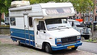 Een derde van de campers te zwaar beladen: nadelig voor verkeersveiligheid