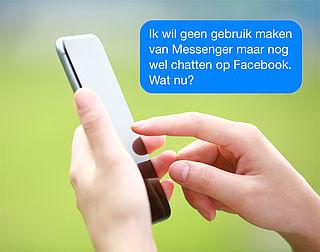 Zo gebruik je de chatfunctie van Facebook zonder Messenger