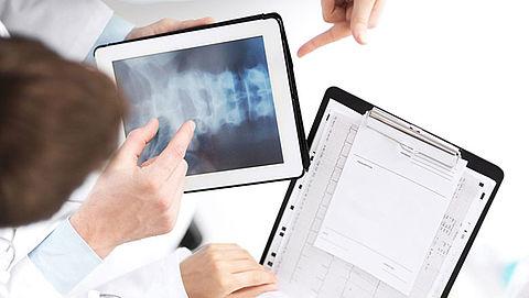 Patiënten kunnen met nieuwe app hun eigen scans bekijken