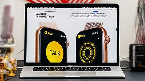 Beldienst Walkietalkie van Apple tijdelijk uitgeschakeld