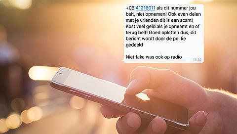 Trap niet in WhatsApp-kettingbericht over duur telefoontje van +0641216011}