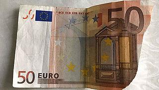 Beschadigd briefje uit de geldautomaat, wat nu?
