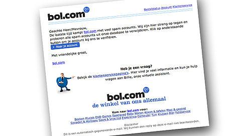 Let op: phishingmail van 'bol.com'}