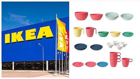 IKEA roept borden, schalen en bekers terug