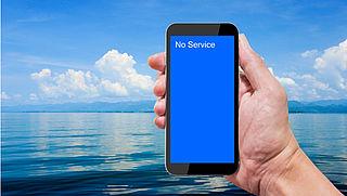 Radar checkt: roamen op zee