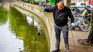 Verbod op magneetvissen wordt amper gehandhaafd