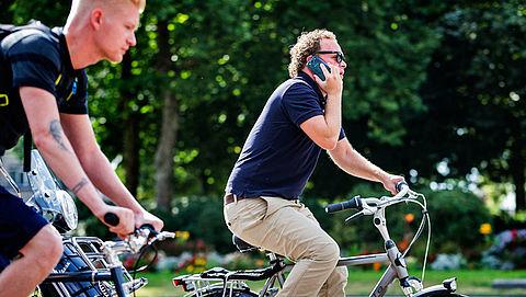 Is jouw telefoongebruik op de fiets veranderd?}