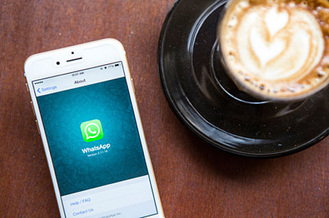 Een back-up maken van WhatsApp op je iPhone}