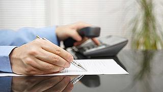 Geen boete voor verkeerde aangifte na fout Belastingtelefoon