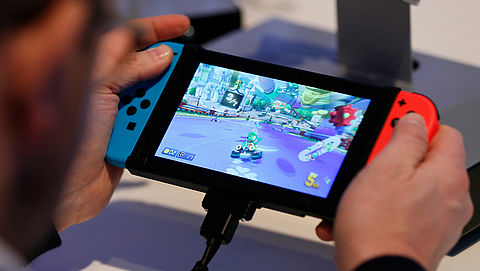 Games voor Nintendo Switch smaken vies, en dat is expres