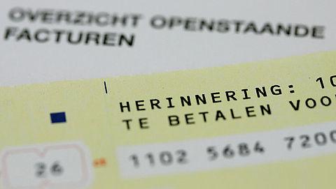 Aantal wanbetalers in de zorg flink afgenomen
