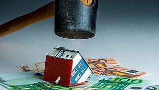 Nieuwbouwwoningen vaker bij opbod verkocht en daardoor duurder