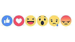 Facebook lanceert alternatieven voor like-knop