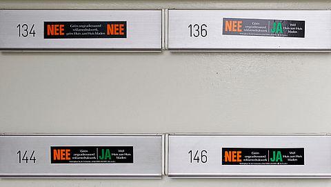 Amsterdam voert ja-ja-sticker in