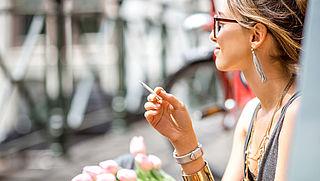 '23 procent van Nederlanders boven 25 rookt'