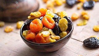 Hoe gezond is gedroogd fruit?