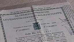 Radar checkt: Ardanta-polis van 100 gulden uit 1934 nu 50 eurowaard