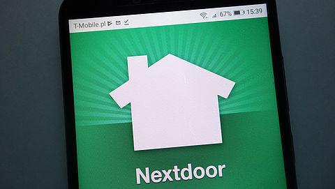 Ophef over brief van buurtapp Nextdoor}
