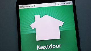 Ophef over brief van buurtapp Nextdoor