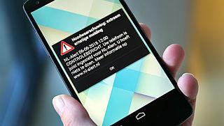 NL-alerts calamiteiten voortaan ook op OV-borden