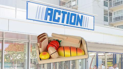 NVWA waarschuwt voor houten speelset Action }