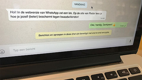 Lek in WhatsApp Web: Hoe bescherm je je account?}