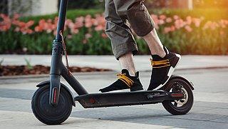 'Elektrische scooters niet zo duurzaam als gedacht'