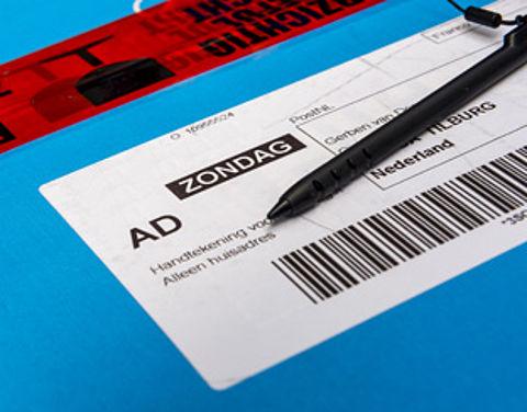 PostNL verder met pakketbezorging op zondag}