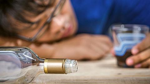 Veel vaker alcoholvergiftiging bij minderjarigen