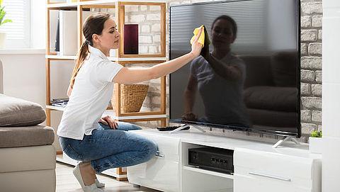 Schoon tv-scherm: zo doe je dat