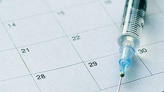 Verwarring en gebrek aan flexibiliteit rondom planning tweede vaccinatieprik