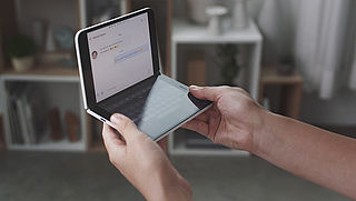 Microsoft gaat uitklapbare smartphone uitbrengen