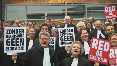 Advocaten vrezen bezuinigingen; geen rechtshulp meer voor minima