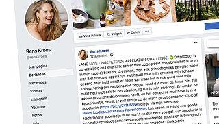 Rens Kroes vindt azijn 'wondermiddel', Radar checkt: 'onzin'