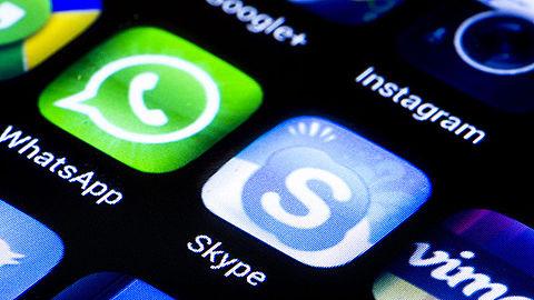 'Brussel wil meer grip op Skype en WhatsApp'}