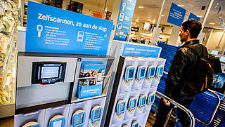 53 procent maakt weleens gebruik van een zelfscankassa in de supermarkt