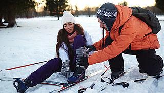 'Pas op voor knieblessure tijdens wintersport'