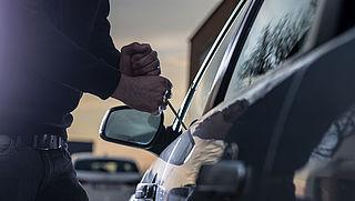 Aantal autodiefstallen opnieuw aanzienlijk gedaald