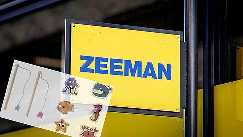 Zeeman roept kinderspeelgoed terug wegens verstikkingsgevaar