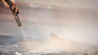 Werknemers en omwonenden liepen 'zeer klein' gezondheidsrisico door straalgrit