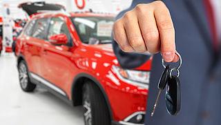 Verkoop nieuwe auto's fors gestegen