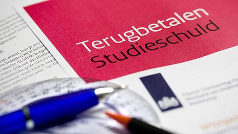 Verhoging rente op studielening gaat niet door
