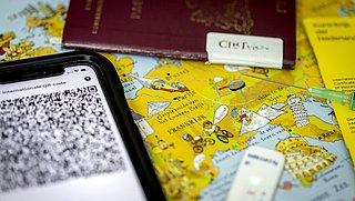 Vakantie in Frankrijk kan nu met CoronaCheck-app