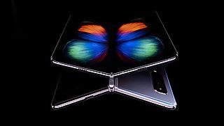 Samsung onderzoekt Galaxy Fold vouwtelefoon