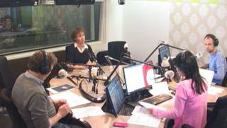 Radio-uitzending 02-12-2017