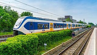 Meer treinreizigers positief over NS
