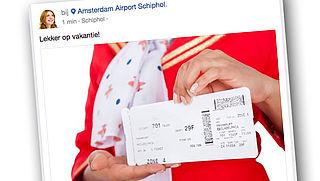 Let op: deel geen foto van je boardingpass op sociale media!