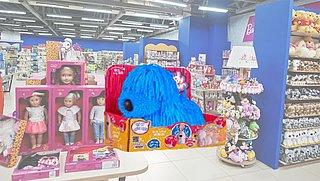 Speelgoedhondje blijkt gevaarlijk voor jonge kinderen