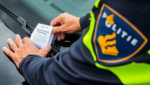 Aantal parkeerboetes gestegen door inzet scanauto's