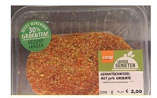 Listeriabacterie ook in gehaktschnitzel van Coop